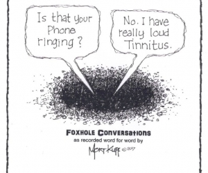 FOXHOLE CONVERSATIONS