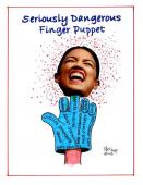 Dangerously Serious Finger Puppet