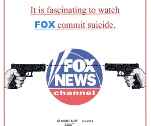 Watching Fox Commit Suicide