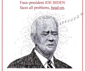 Biden Faces All Problems - Head On