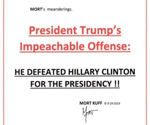 President Trump's Impeachable Offense
