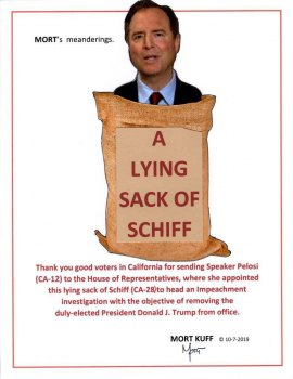 A Lying Sack Of Schiff