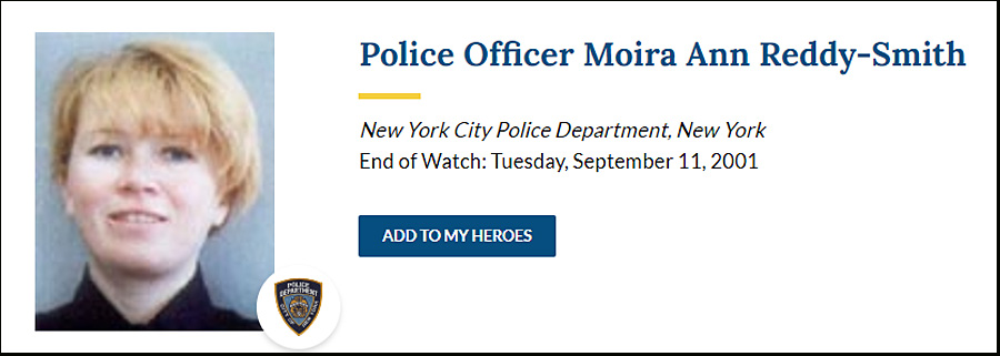 Officer Moira Ann Smith
