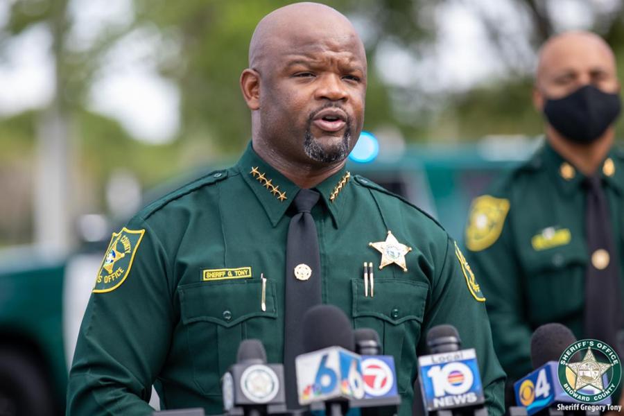 Broward Sheriff Gregory Tony