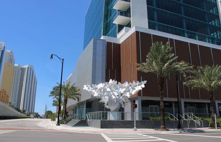 Milton Tower features $1.6 million sculpture