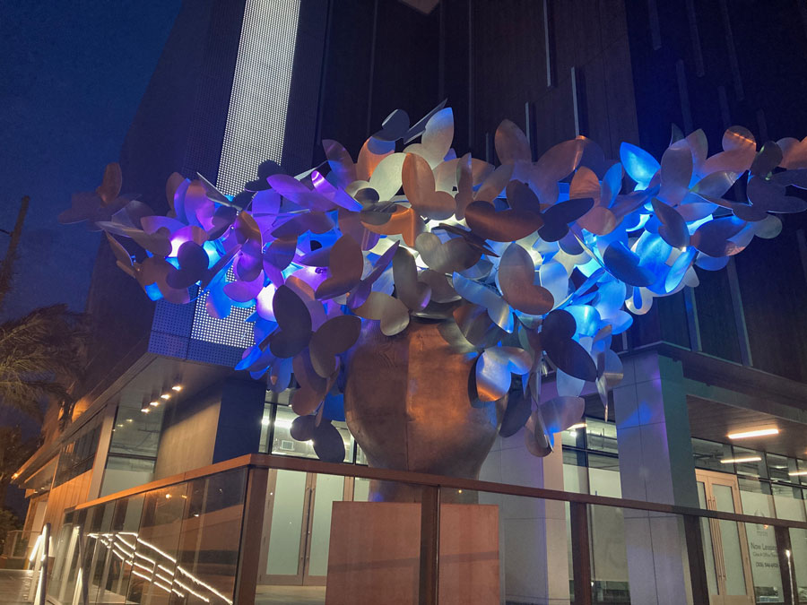 Milton Tower Sculpture