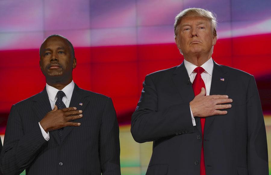 Ben and Trump