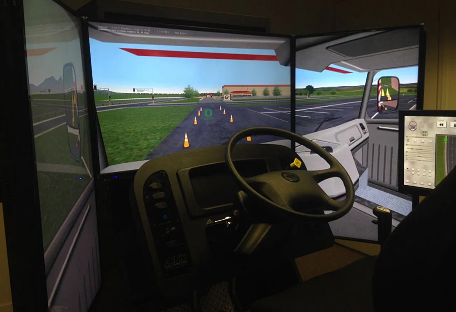 Advanced Realistic Simulation Enhances Training for Tomorrow's Truckers