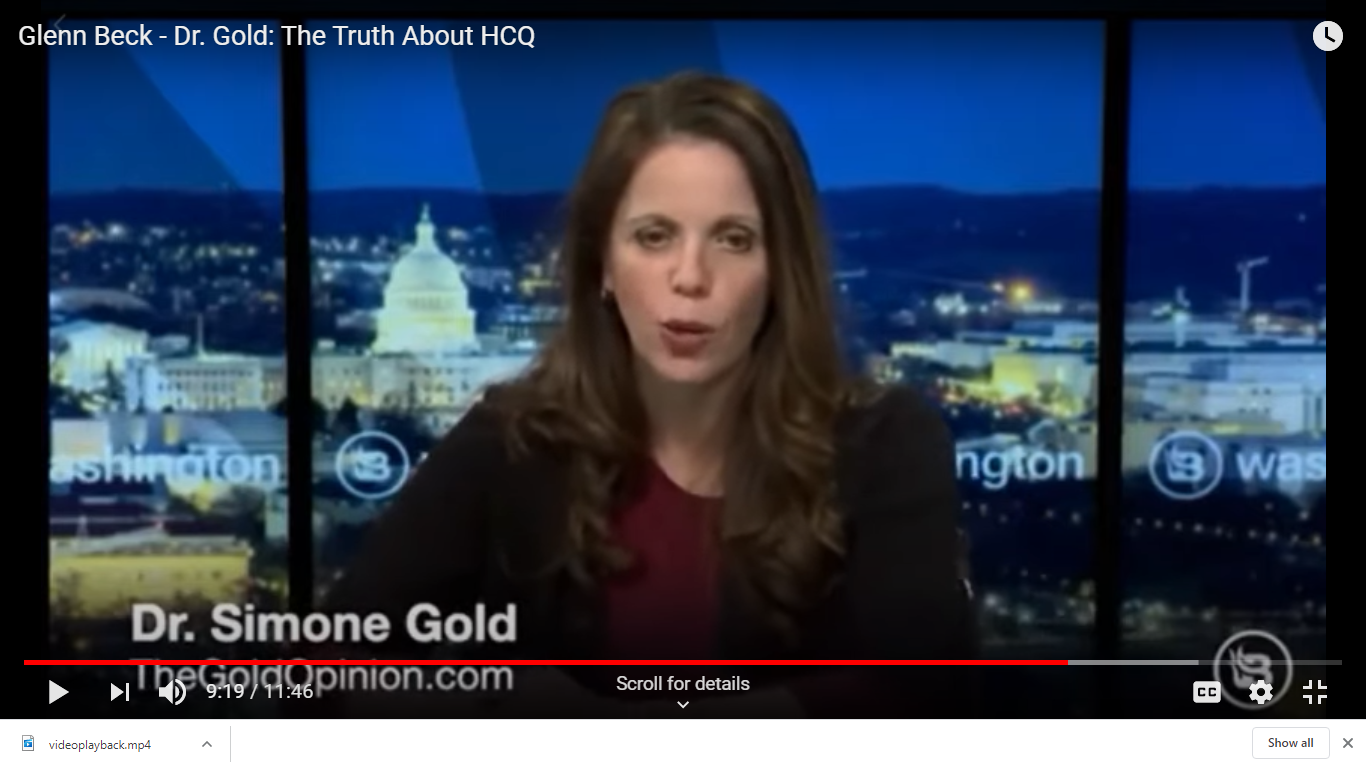 Dr. Gold: The Truth About HCQ (Hydroxychloroquine) with Glen Beck