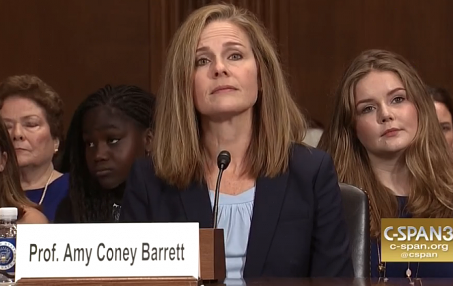 "Amy Coney Barrett, who has suggested Roe v. Wade was an ""erroneous decision"" and called the Affordable Care Act's birth control benefit ""an assault on religious liberty"" is expected to be Trump's pick to replace Ruth Bader Ginsburg tomorrow in an announcement."