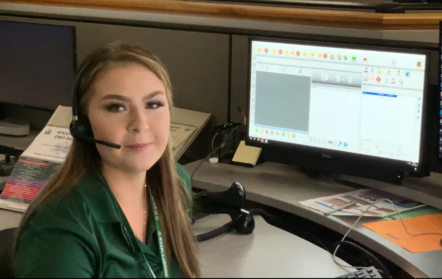 FCSO Communications Specialist McKenzie Davis