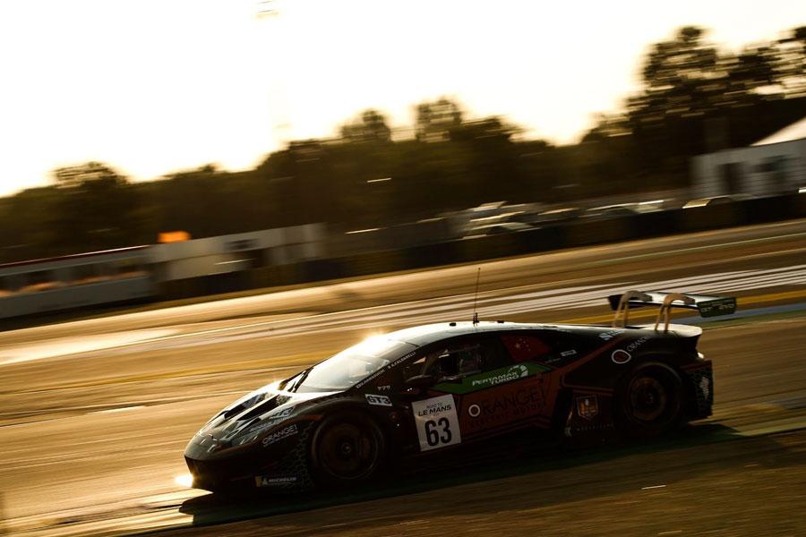 Lamborghini Huracán GT3 Evo - FFF Racing- Road to Le Mans 2020