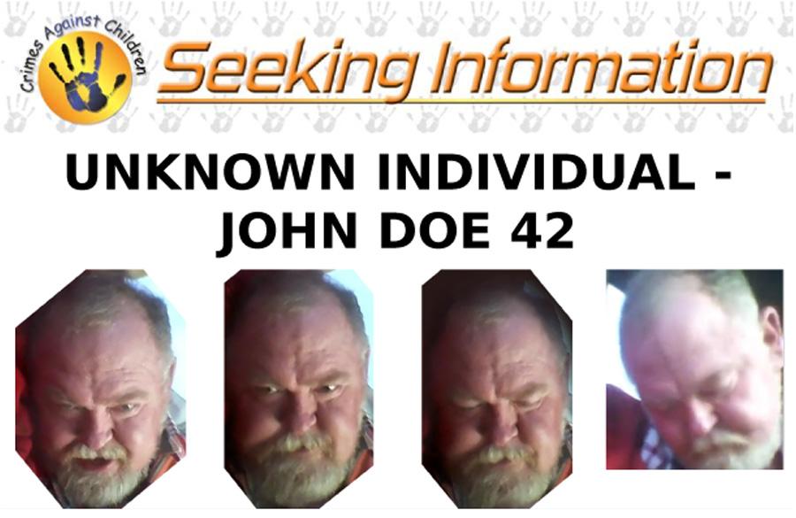 UNKNOWN INDIVIDUAL - JOHN DOE 42