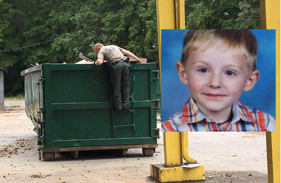 His body was found five days later partially submerged in a creek near the park.
