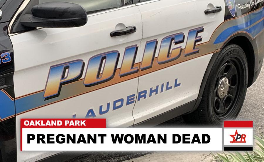 PREGNANT WOMAN DEAD