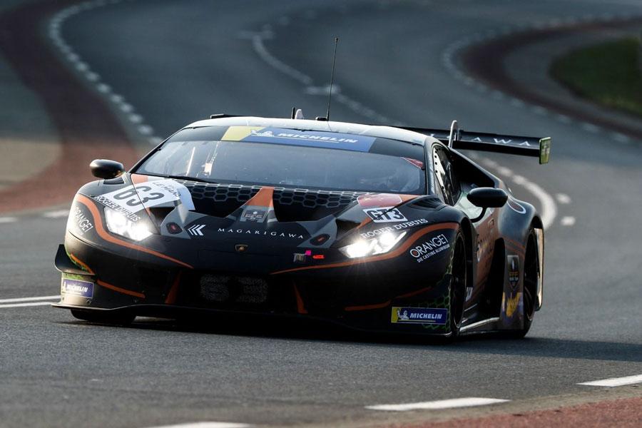 Lamborghini Huracán GT3 Evo - FFF Racing- Road to Le Mans 2020.