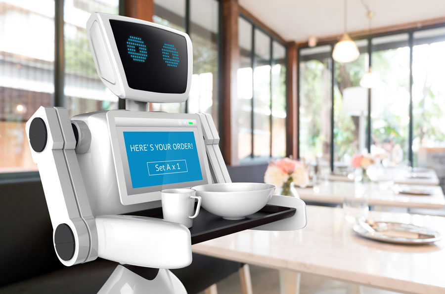 Robots Will Take Over Restaurants