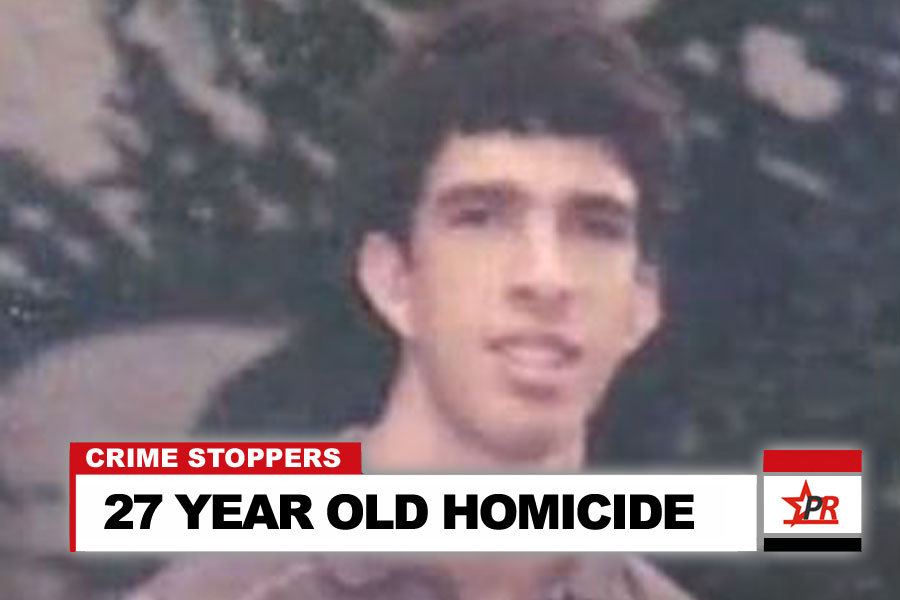 27 YEAR OLD HOMICIDE
