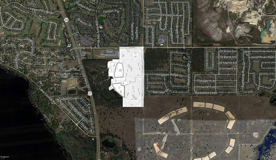 Subdivision in Clermont