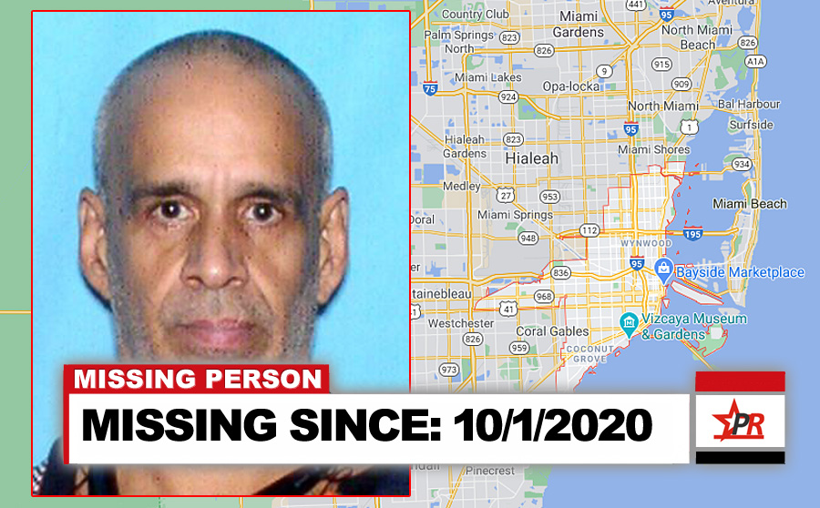 MISSING SINCE: 10/1/2020