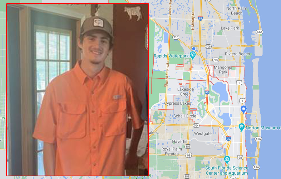 """Jordan Martin, 17, is described as being 5'10"""" and approximately 120 lbs. He has brown eyes and brown hair and was last seen wearing a gray hooded sweatshirt, blue jeans and a gray and white hat."""