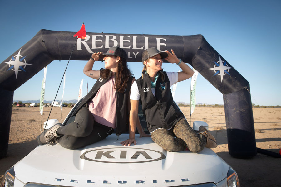 Relentless and Resilient Kia Rebelles Finish Second Overall in X-Cross Class