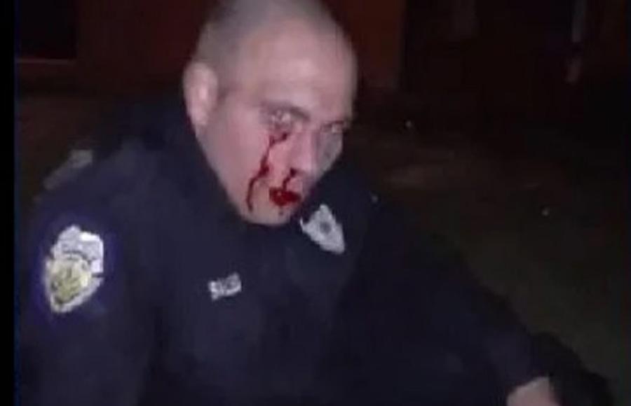 Cop Beaten