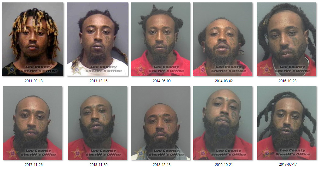 According to Lee County records, Pitters has an extensive history with Law Enforcement dating back to a 2011 robbery charge.