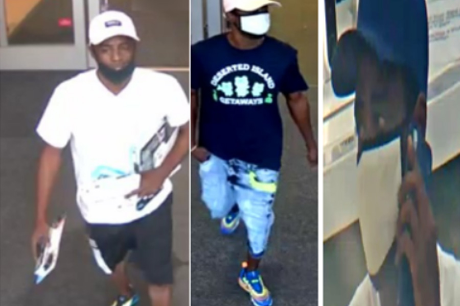 According to the report, the suspect entered Super Target stores from Miami to Palm Beach County stealing over $18,000 in electronics.