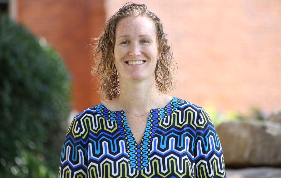 Colleen Vanderlip, MA, director of Stetson's Wellness and Recreation Department.