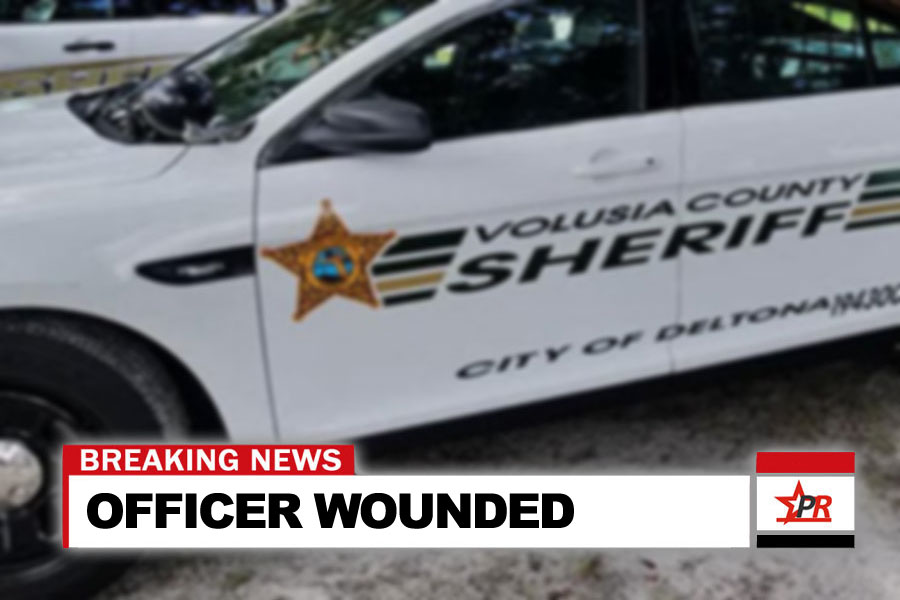 OFFICER WOUNDED IN SHOOTING