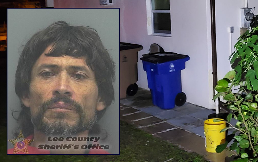 According to authorities, Jose Luis Ortiz, 46, drowned two animals and bludgeoned a third. He was placed under arrest and charged with three counts of aggravated animal cruelty. Detectives booked Ortiz into the Lee County Jail.