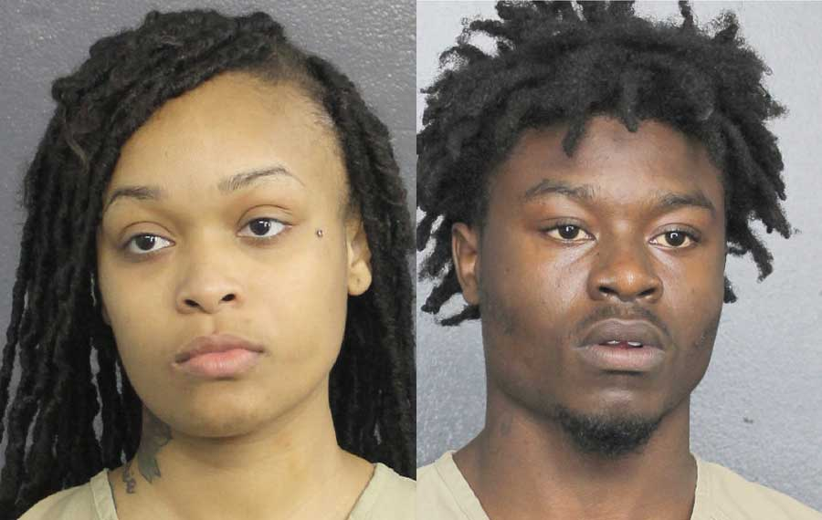 Jayla Leondrea Patton, 23, of Fort Lauderdale and D'Angelo Cincord, 19, of Fort Lauderdale both fled after the shooting occurred. They are both facing murder charges and according to county records remain in custody at this time.