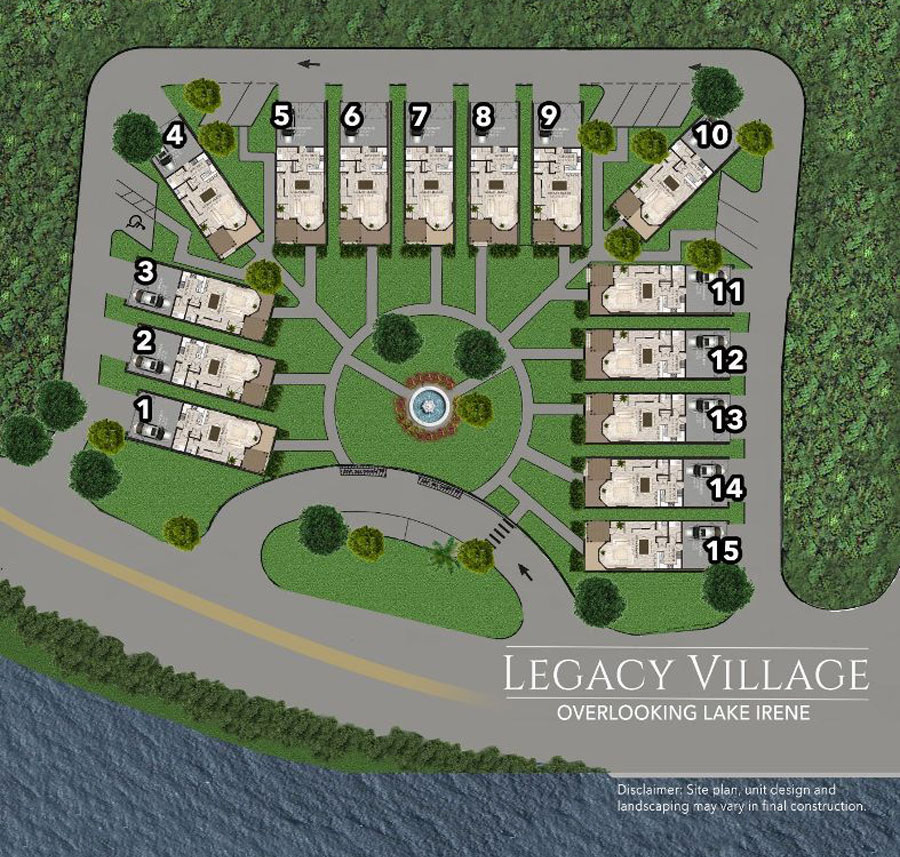STI01 Legacy Village Site Plan