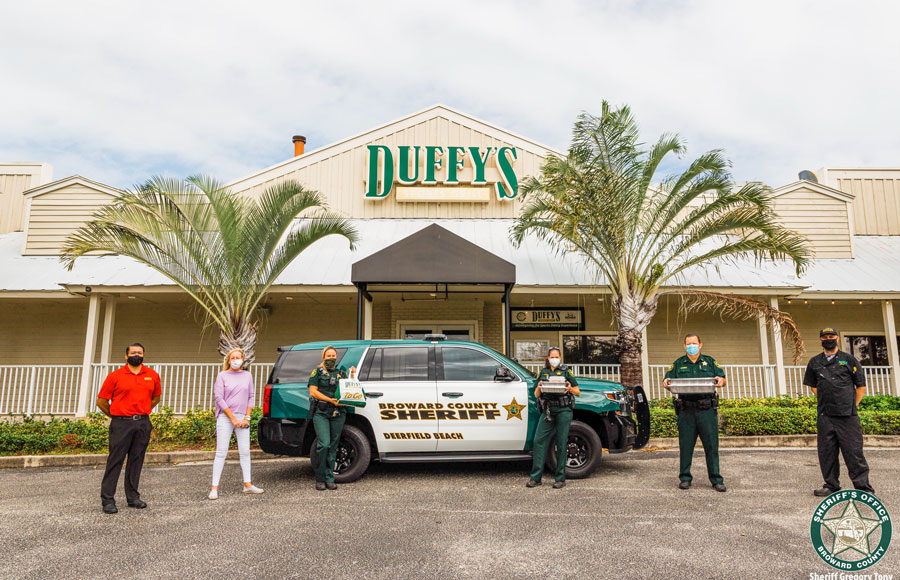 South Florida-born restaurant chain Duffy's Sports Grill is known as one of the leading Sports Bars and Grills throughout the area and operates 34 full-service, casual-dining restaurants throughout Florida.