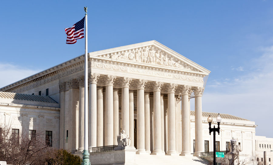 The justices could declare the entire law unconstitutional — which is what a federal district judge in Texas ruled in December 2018. But legal experts say that's not the most likely outcome of this case. File photo: ShutterStock.com, licensed.