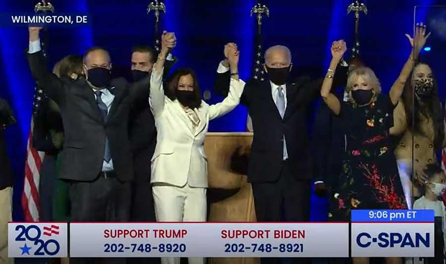 Joe Biden and Kamala Harris Victory Speeches