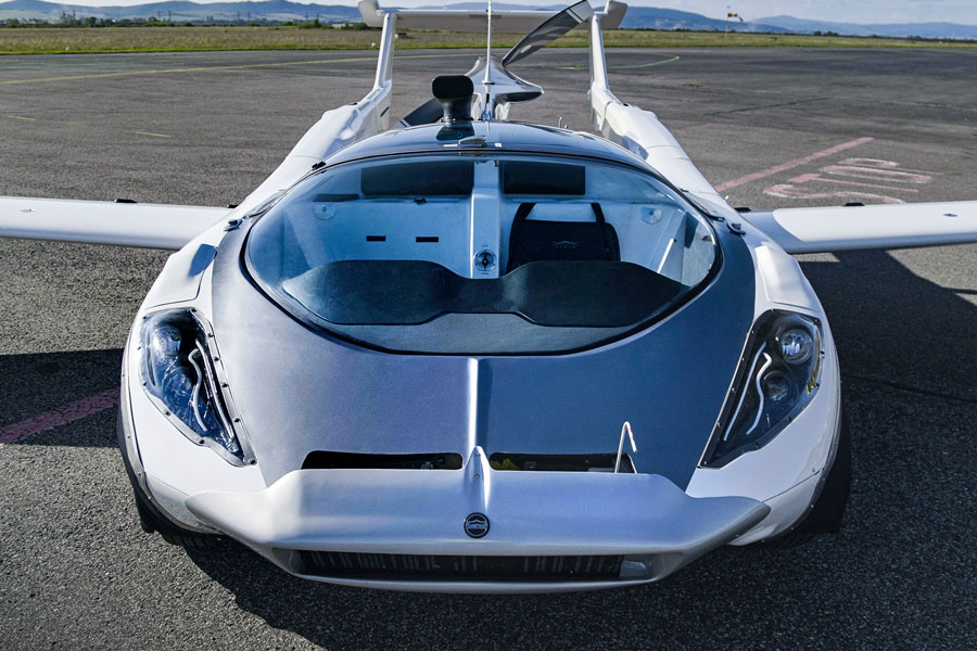 The Latest Generation of Flying Cars Developed By Klein Vision