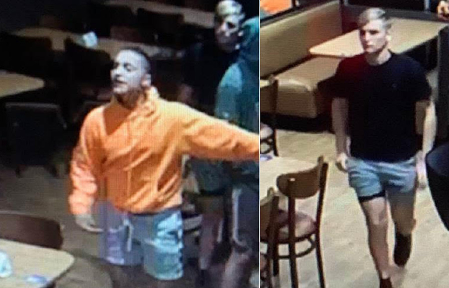 According to authorities, the two suspects committed a physically battery on two two females, one female received permeant disfigurement.  The two males fled in a white Mazda 4-door vehicle. The IHOP is located in the 500 block of North State Road 7, Royal Palm Beach.