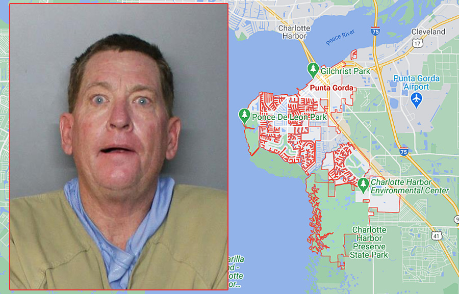 Doug James Gow, 57, of Punta Gorda, was found unresponsive, alone in his cell with a piece of fabric around his neck. Jail staff immediately began life-saving measures as Charlotte County EMS were en route. Unfortunately, their efforts were unsuccessful.