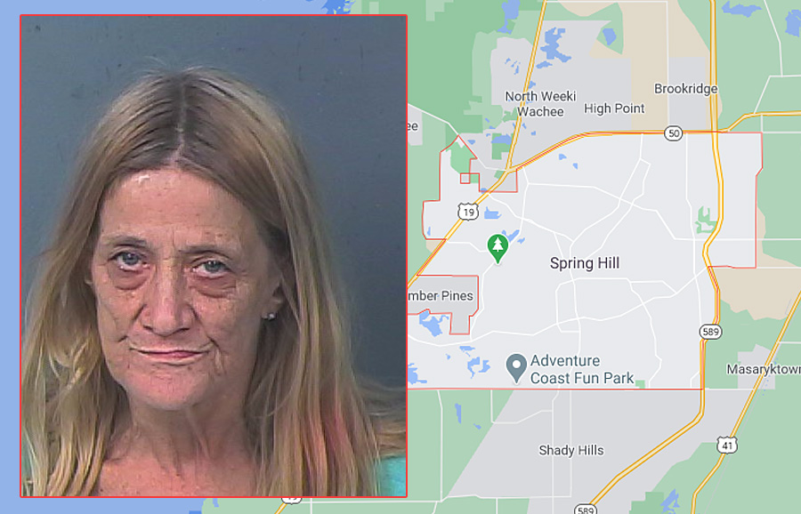 The owner of the residence, Derby Morgan, 66, was placed under arrest and charged with possession of a controlled substance, possession of a new legend drug without a prescription, possession of methamphetamine and possession of paraphernalia. Her bond was set at $12,000.