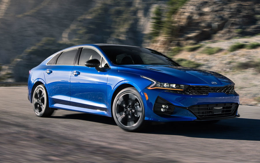 All-new K5 Wins Sedan Segment; shocks the market with emotional design and luxurious ride quality.