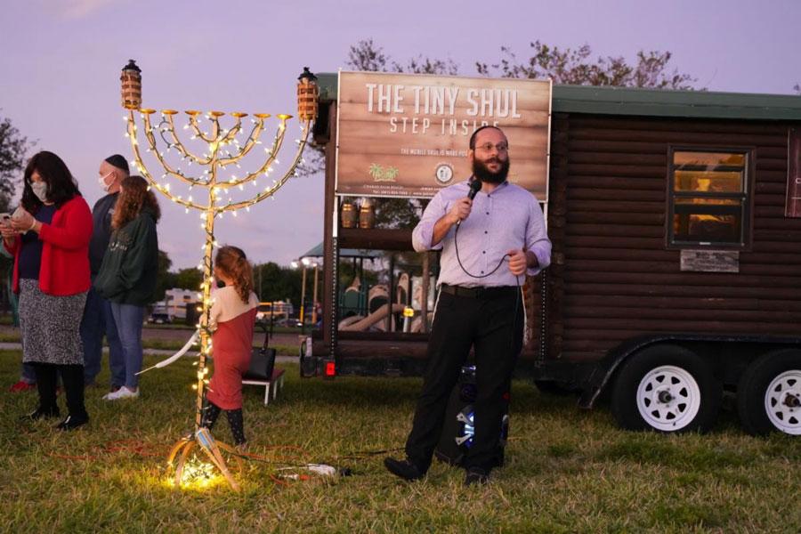 Jewish Community Synagogue Lights