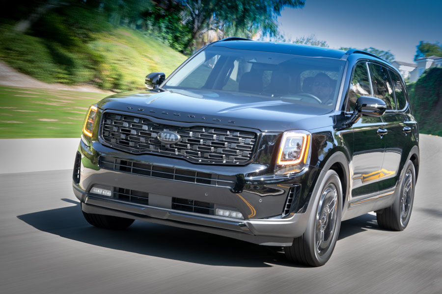 Telluride is again Top-Rated SUV. Continues historic run with proven capability and strong value.
