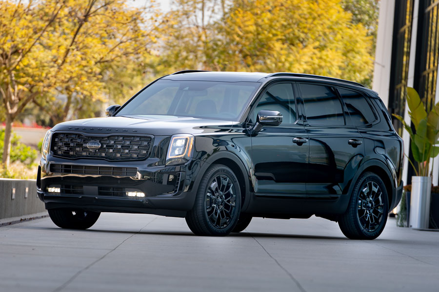 "Telluride is named ""Best Three-Row Midsize SUV"" for second consecutive year"