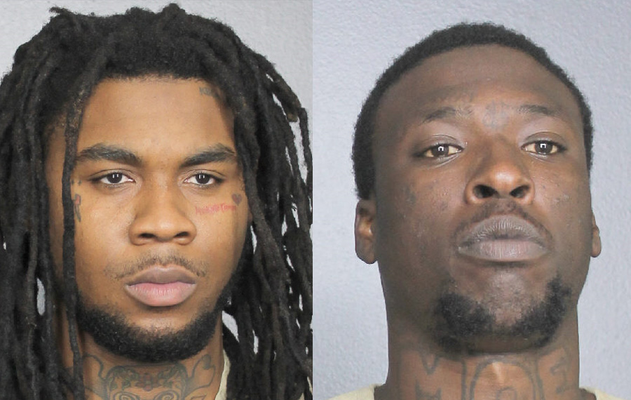 Kejuan Brandon Campbell, 26, of Tamarac, Florida, and Dionte Alexander-Wilcox, 24, Miramar, Florida, were arrested for kidnapping and conspiracy to kidnap. If convicted, both Campbell and Alexander-Wilcox face a maximum sentence of life imprisonment and a term of supervised release of up to 5 years.