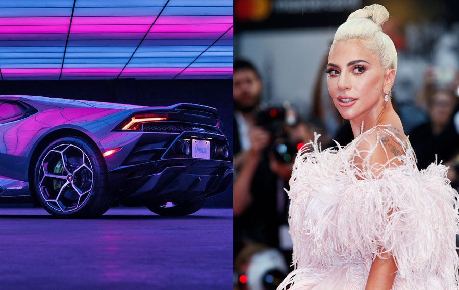 Organizations 'Born This Way Foundation' and 'Together Rising' to benefit Lady Gaga attends the premiere of the movie 'A Star Is Born' during the 75th Venice Film Festival on August 31, 2018 in Venice, Italy. Editorial credit: Andrea Raffin / Shutterstock.com, licensed.