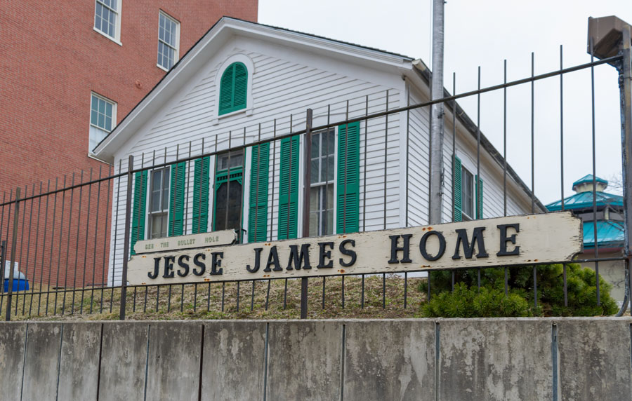 Jesse James Home Museum, St. Joseph, Missouri / United States - March 24 2019, Photo credit: APN Photography / Shutterstock.com, licensed.