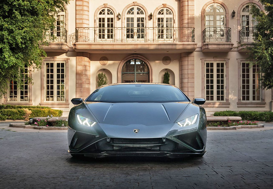 Drive home in the Lamborghini Huracán from Lady Gaga's 911 music video and drive some incredible impact for a good cause!