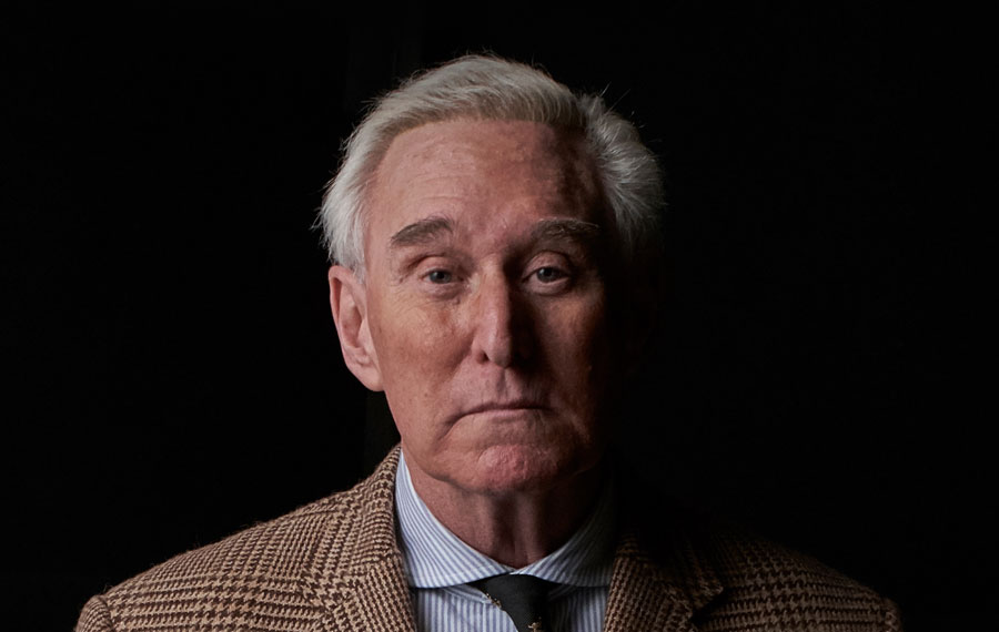 Roger Stone Releases Statement on Presidential Pardon